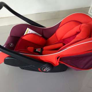 Jual baby carrier and car seat babydoes NEW