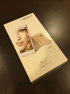 Oppo A37 Gold Brand New