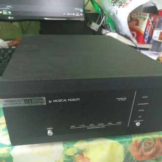 Musical Fidelity m1dac Hifi digital to analog converter