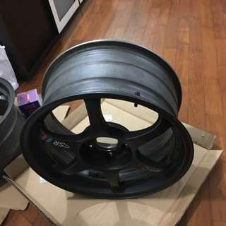 17 inch original SSR Type C RS rims only