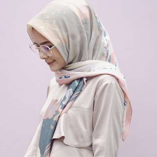 Voal Hijab Printed - Voal Scarf
