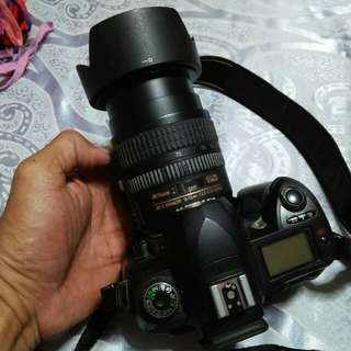 Hi I'm selling my Nikon D70s and coolpix p100 still in good condition not sure how long I have used can nego