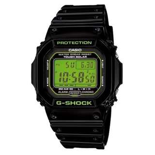 CASIO G-SHOCK G-5600 series G-5600B TOUGH SOLAR 光動能 GSHOCK G5600B