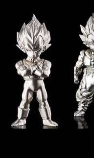 Dragon ball Absolute Chogokin - SS Vegeta (New) - Silver colour finishing only