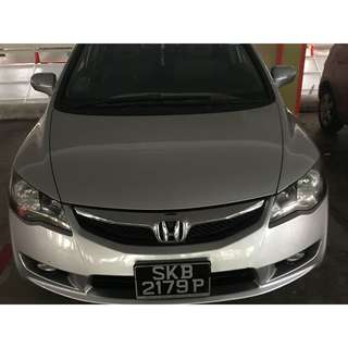 HONDA CIVIC HYBRID MX 1.3 A
