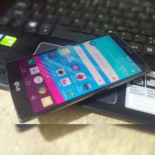 LG G4 HexaCore 32gb 3gb ram LG-F500 LTE Black Leather Openline