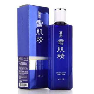 KOSE MEDICATED SEKKISEI 200 ml WITH SAMPLE AND SPONGE