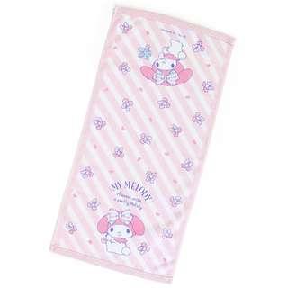 Japan Sanrio My Melody Face Towel (Heart Cherry)