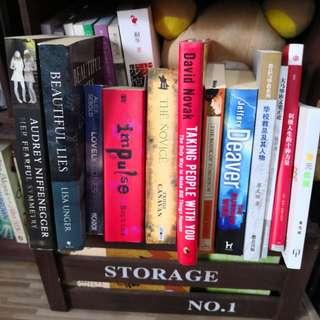 Various book titles