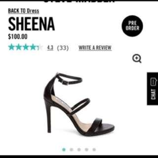 Steve Madden Sheena Heels Size 7