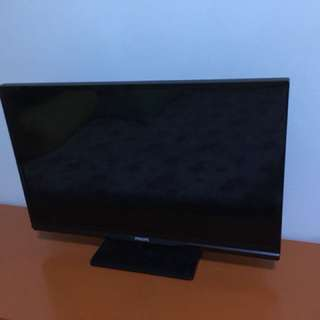 "TV Philip 22"" Digital LED USB&HDMI"