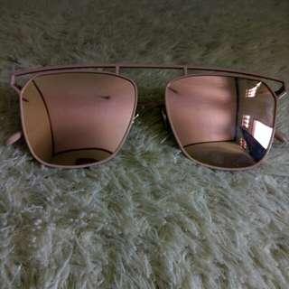 Sunglasses pink (kacamata)