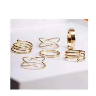 (PO) Rings Set - 010