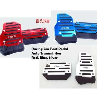 1 set 3 pcs manual racing car foot pedal easy fix