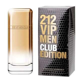 SALE!! 212 VIP MEN CLUB EDITION 100ML