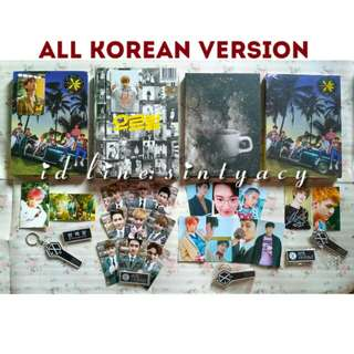 Album exo korean the war kokobop private growl xoxo repackage special winter universe Xiumin Baekhyun photocard pc dan sealed