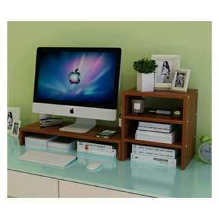 Monitor Sgand with Side storage Rack.💕