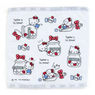Japan Sanrio Hello Kitty Hand Towel (Candy)