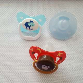 Baby pacifier dr browns and avent for take all