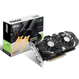 MSI GeForce GTX 1060 6GB OC Dual Fan Afterburner