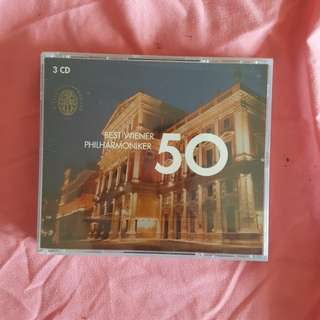 Best 50 of the Vienna Philharmonica CD
