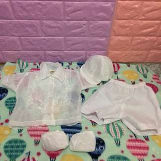FREE SHIPPING BAPTISMAL SET BABY BOY