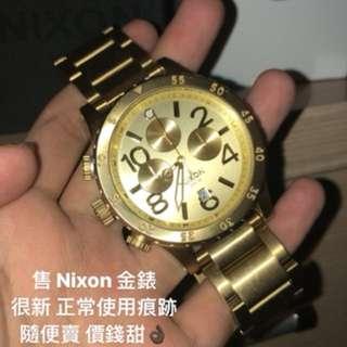 Nixon 金錶(配件都有)