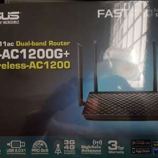 New Asus RT AC1200G+ Router