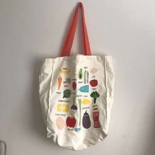 kikki.K Canvas Tote Bag