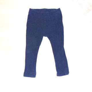 Charity Sale! Authentic Seeds Baby Girl Tights Dark Blue Size 6-12 months
