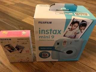 $120 Fujifilm Instax Mini 9 + Free 1 box instant films(10pcs)
