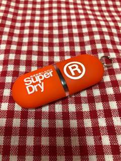 Brand new 100% authentic Superdry thumbdrive USB