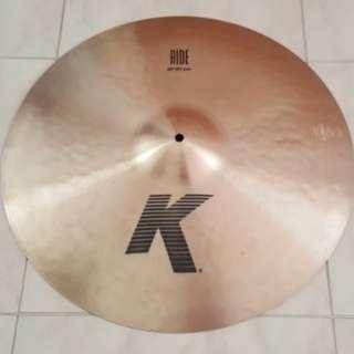 """ZILDJIAN K 20"""" RIDE cymbal"""
