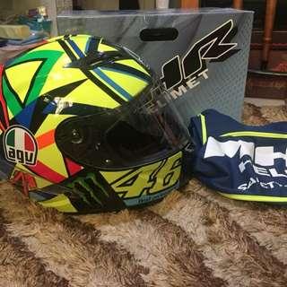 MHR X310 AGV Pista Soleluna Design Helmet