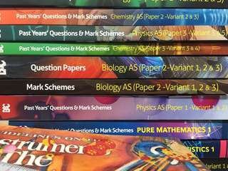 Biology past year AS level with mark scheme