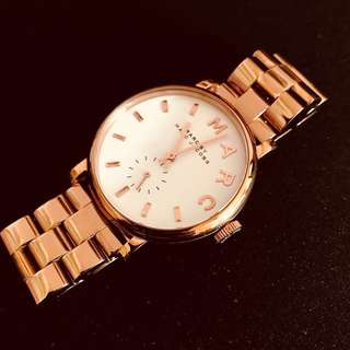 Elegant & Stylish Marc Jacobs Rose Gold Watch, without backcasing but it can be repair or 3D printed