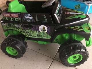 Ride in Monster Truck