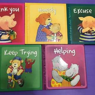Good Habits and Manners Storybook