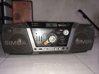 Sharp radio