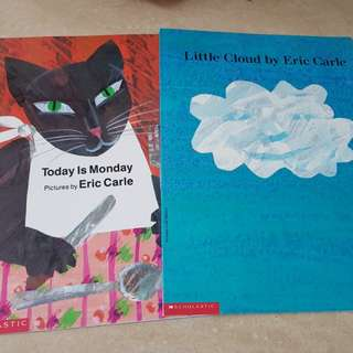 Eric Carle books. Preloved but very good condition