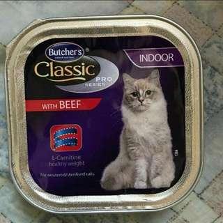 [Sales] Butcher's 室內絕育貓配方牛肉餐盒100g [5盒]
