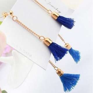 Korean Style Tassel Earrings