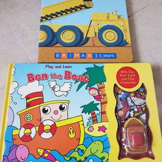 Preloved board books