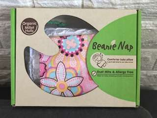 Beanie Nap comforter baby pillow (suitable for baby girl)