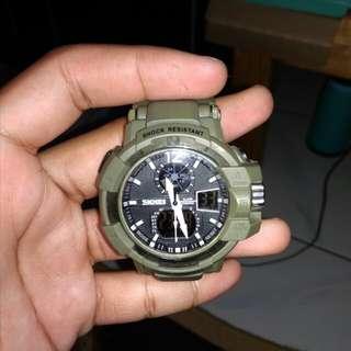 Jam tangan merk SKMEI #IPB2018