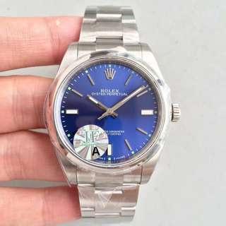 地鐵站交收 Rolex 勞力士 114300 39mm 藍面 JF出品