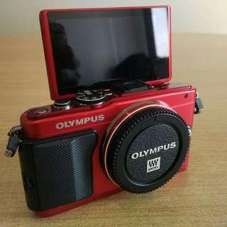 Olympus Pen EPL-6 Body Metallic Red