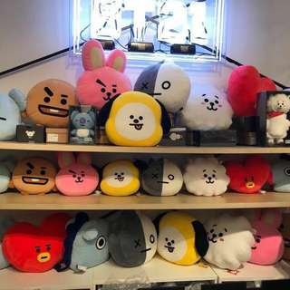 OFFICIAL BT21 CUSHIONS | INCOMING Readystock