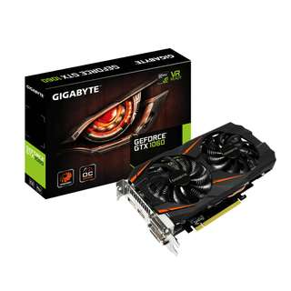 Gigabyte GeForce® GTX 1060 WINDFORCE OC 6GB