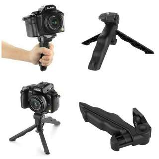 Foldable Pistol Grip Mini Camera Tripod